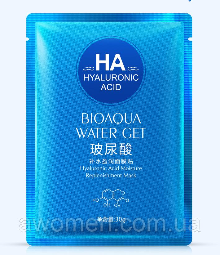 Маска BIOAQUA HA с гиалуроновой кислотой 30 g