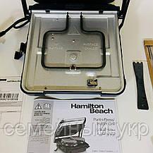 Электрический гриль (2 в 1) Hamilton Beach 25451-SAU (барбекю-электрогриль), фото 2