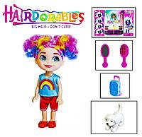 """Лялька (кукла) """"H"""" Hairdorables 2 сезон 991849513(24шт) 12 видів, лялька-сюрприз з аксесуарами, в кор. 23*8*18"""
