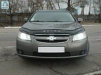 Мухобойка, дефлектор капота Chevrolet Epica 2006- (VIP)