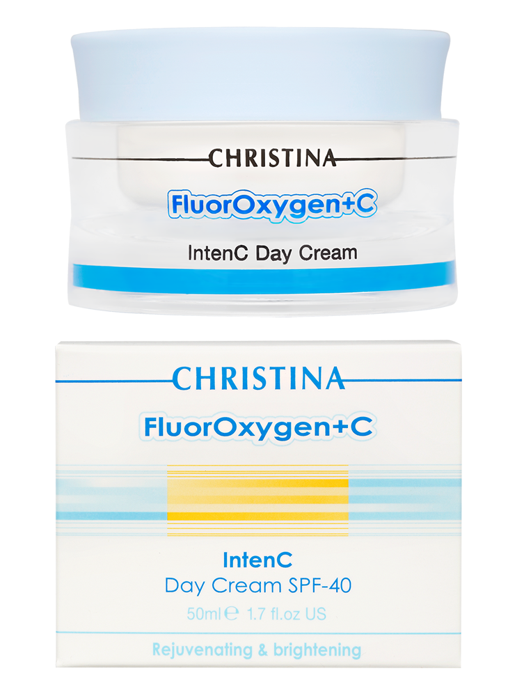 Флюроксиджен Дневной крем SPF 40 FluorOxygen+C Intenc Day Cream SPF 40, 50 мл