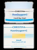 Флюроксиджен Дневной крем SPF 40 FluorOxygen+C Intenc Day Cream SPF 40, 50 мл, фото 1