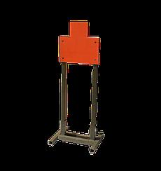 Мишень металлическая Грудная фигура №6