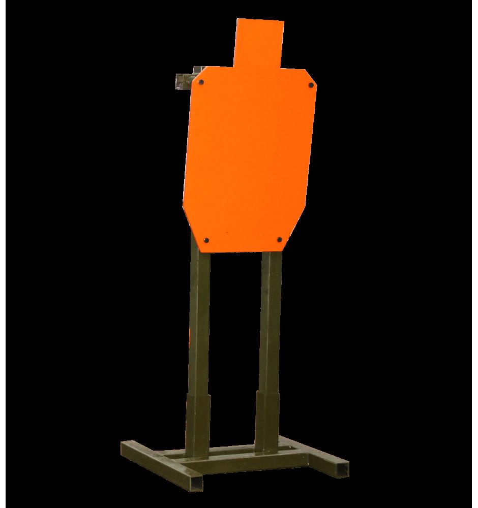 Мишень стальная ростовая (IPSC №1) 450*750