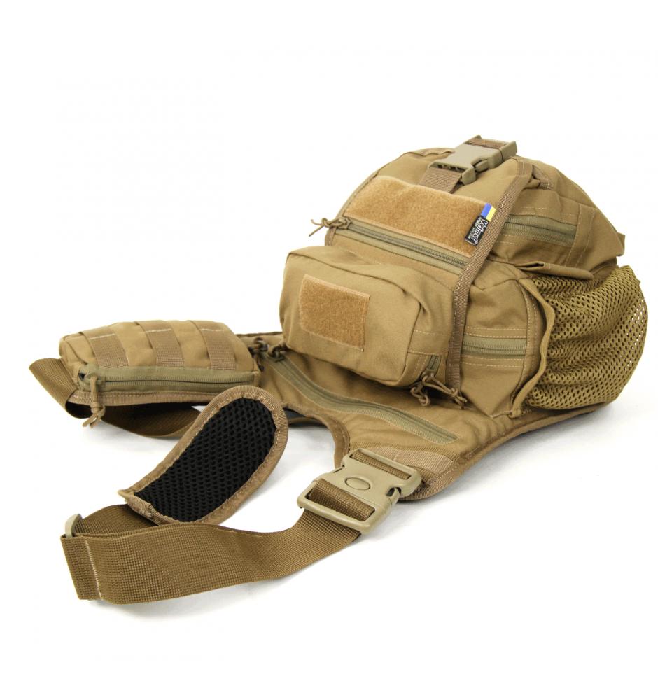 Тактическая плечевая сумка EDC L