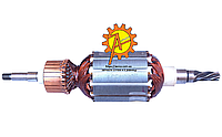 Якорь (ротор) для перфоратора Makita HR 4000C (173*41 / 5-з лево), фото 1