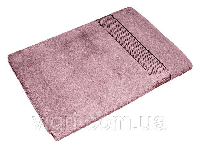 Рушник махровий Азербайджан, 70х140 див., фіолетовий червоний