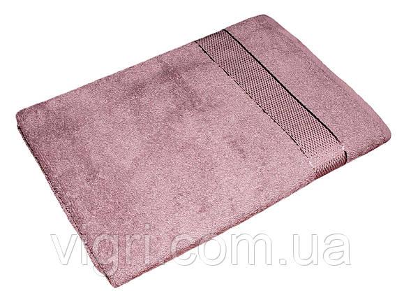 Полотенце махровое Азербайджан, 50х90 см., фиолетово красное, фото 2