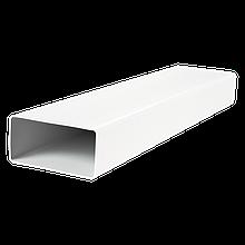 Вентиляционный канал плоский 55х110мм пластик длина 1м 5010
