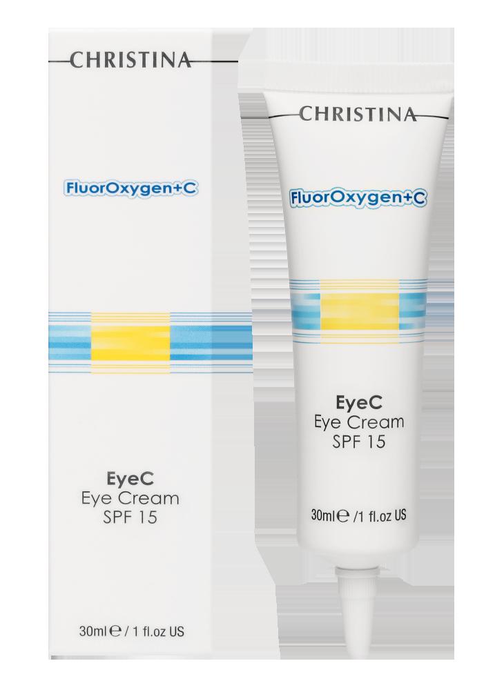 Флюроксиджен Крем для кожи вокруг глаз с SPF15 FluorOxygen+C Eye Cream SPF15, 30 мл