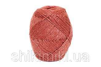 Трикотажный шнур PP Tie Dye, цвет Терракот