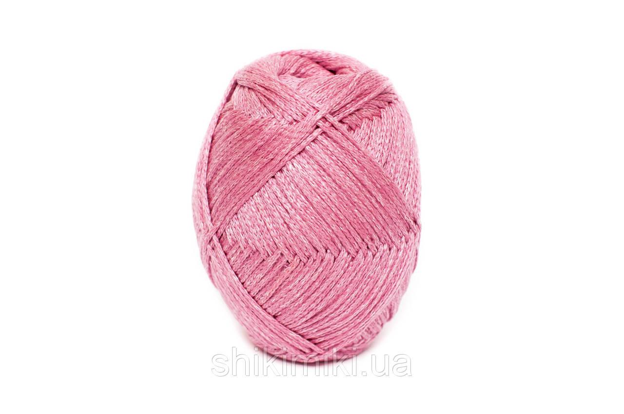 Трикотажный шнур PP Tie Dye, цвет Розовый фламинго