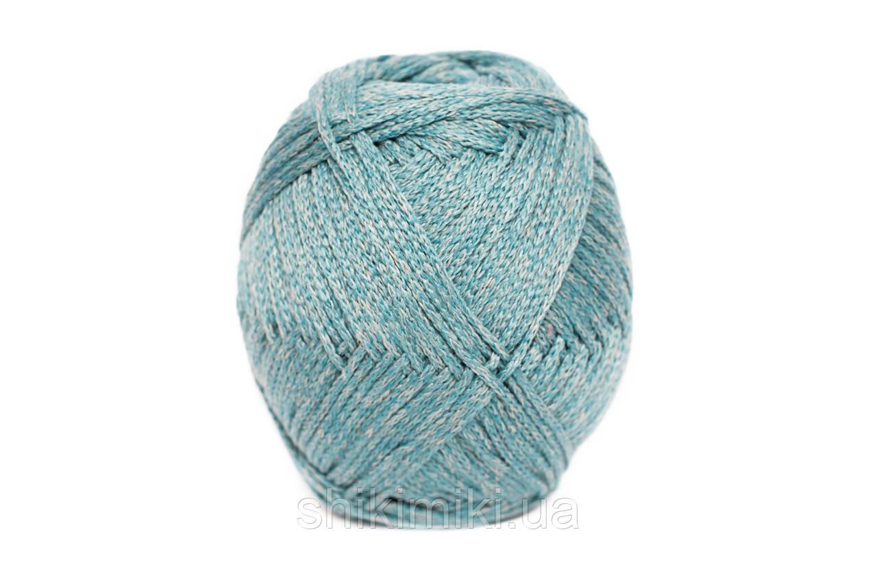 Трикотажный шнур PP Tie Dye, цвет Тиффани