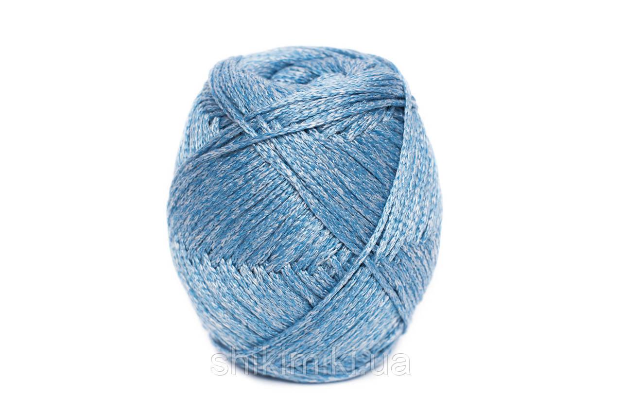 Трикотажный шнур PP Tie Dye, цвет Незабудка