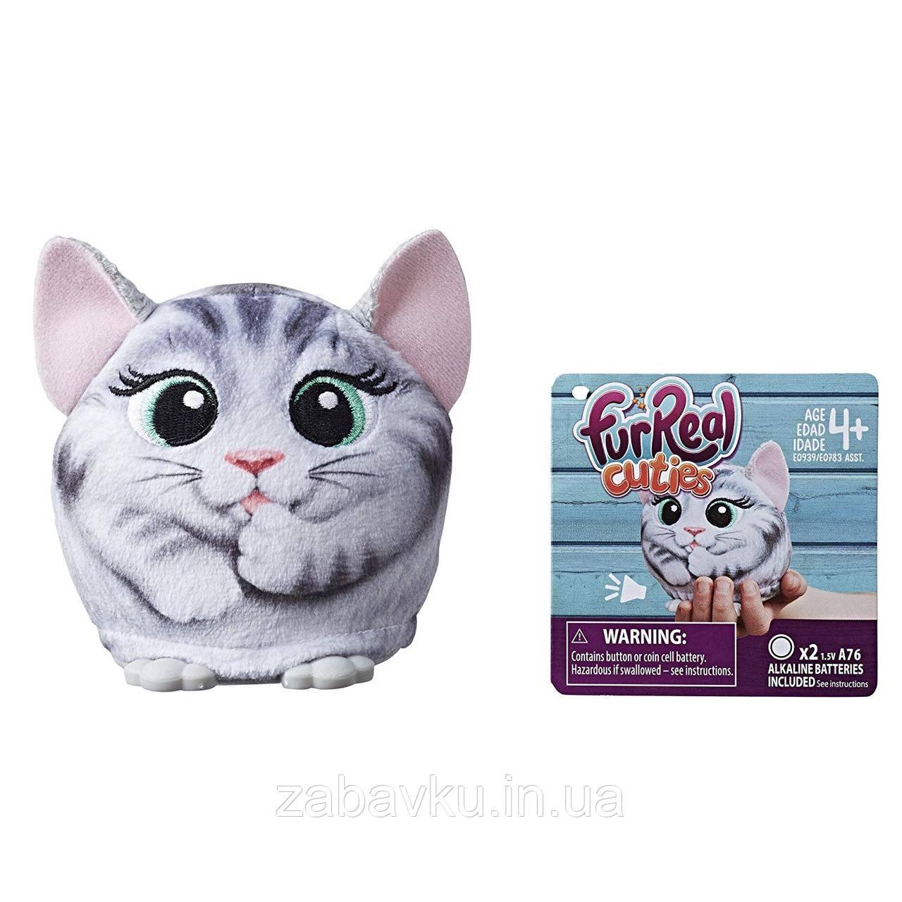 Інтерактивні плюшеві звірятка furReal Cuties Kitty  Hasbro
