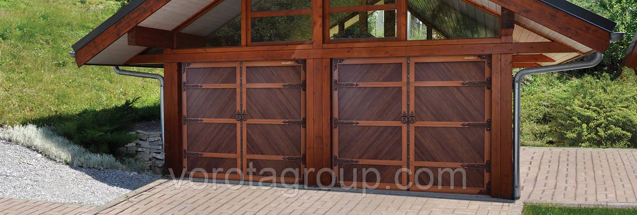 Секційні ворота DoorHan RSD02-Premium