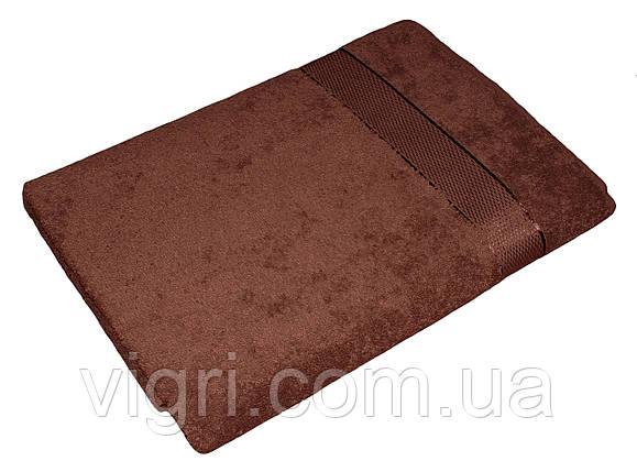 Рушник махровий Азербайджан, 50х90 див., коричневе, фото 2