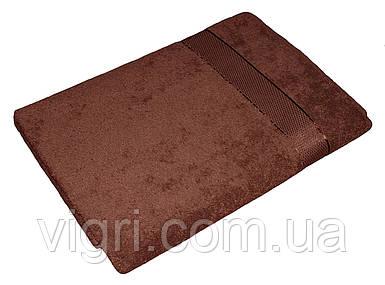 Рушник махровий Азербайджан, 50х90 див., коричневе