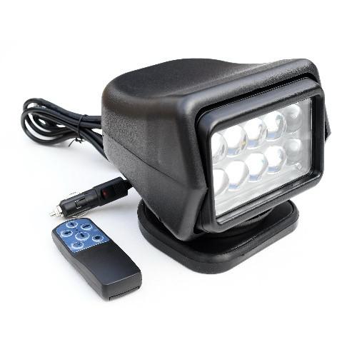 Поисковый прожектор-фара на лодку светодиодный 5x10Вт Lunsun Led524B на 4500 Лм
