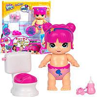 Little Live Bizzy Bubs Clever Chloe Potty Time Інтерактивний пупс Бізі Бабс, фото 1