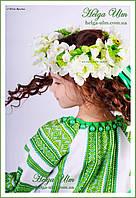"""""""Мавка"""", """"Весна"""" - дитячий карнавальний етнокостюм (білий). Прокат у Львові, фото 1"""