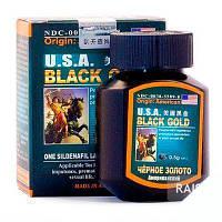 Капсулы для потенции Черное Золото, Таблетки для потенции Black Gold, таблетки возбудитель блек голд, виагра