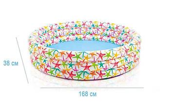 Детский надувной бассейн Intex 56440 (168*38 см), фото 3