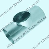 Тройник (Т-деталь) DN 15 AISI304 короткий приварной DIN 11850