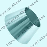 Переход (футорка) DN 100/80 DIN 11850 концентрический нж