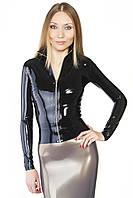 Курточка из латекса с молнией Latex Jacket With Zipper