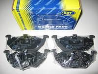 Передние тормозные колодки на Audi A3, Seat Leon, Seat Toledo, Skoda Fabia, Skoda Octavia, VW Polo, VW Golf,