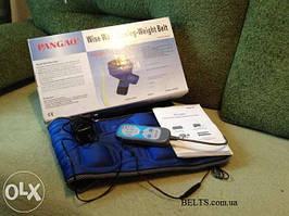 Pangao PG-2001 вибрационный пояс  широкий, автоматический пояс для похудения Вейст Белт Пангао 2001