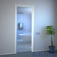 Двери из стекла маятниковые