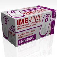 Иголка универсальная к инсулиновой шприц ручке IME-Fine