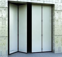 Складные ворота DoorHan DUS-232 2,8м*2м