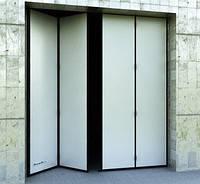 Складные ворота DoorHan DUS-232 2,8м*2м, фото 1