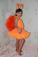 Детский карнавальный костюм Белочка 2 прокат Киев, фото 1