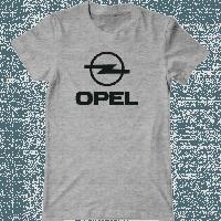 Футболка с печатью принта логотип OPEL