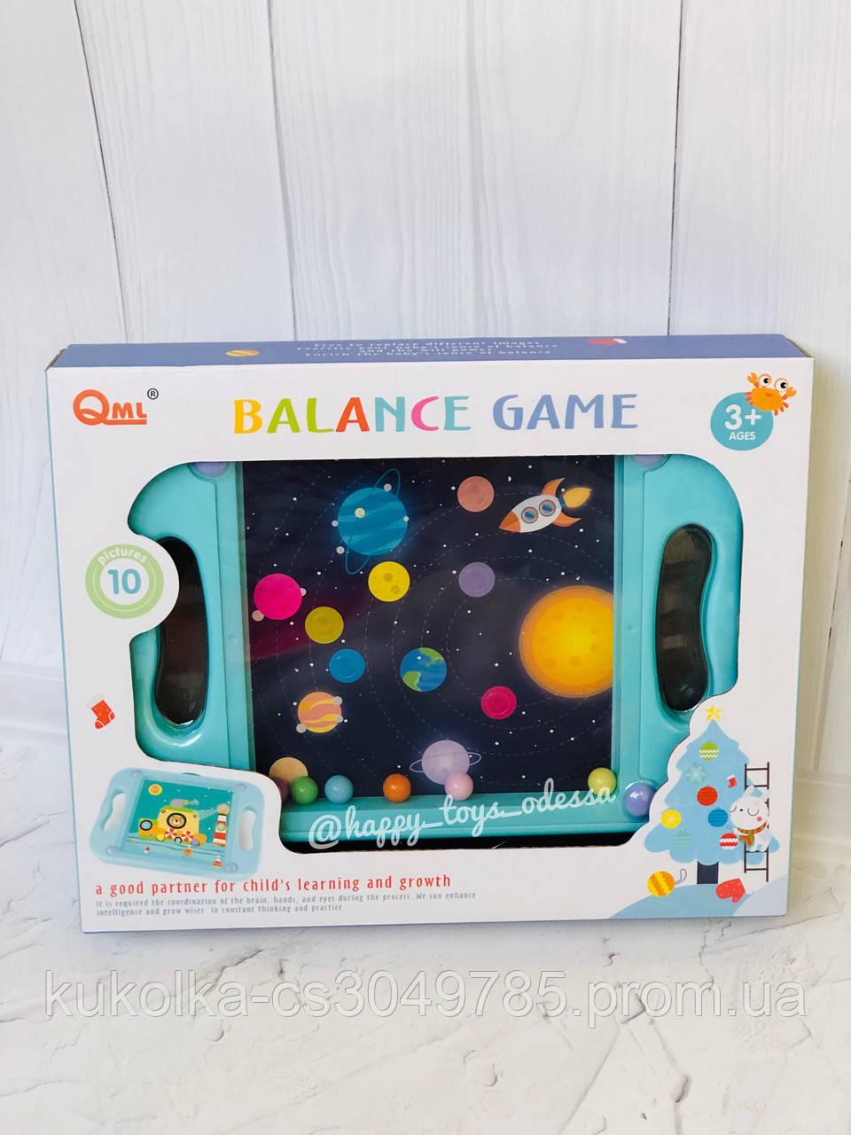 Развивающая игра « Балансир » со сменными картинками, фото 1