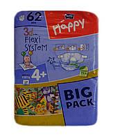 Подгузники Bella Happy Maxi Plus  4+ (9-20 кг) 62 шт.