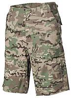Армейские шорты Бермуды MFH Мультикам, фото 1