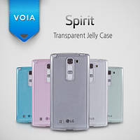 Чехол для LG Optimus Spirit Y70 H422 - Voia Transparent Jelly case
