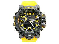 Часы CASIO G-SHOCK GWG-1000 MUDMASTER реплика Желтый с черным