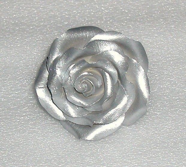 Фото изделия с серебряным пигментом