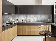 Кухонный фартук Текстура 01 (наклейка интерьерная на стену, текстура дерево, белый забор текстура, виниловая)