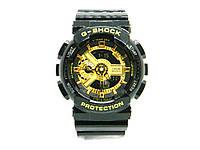 Часы CASIO G-SHOCK GA-110 реплика Черный с золотом