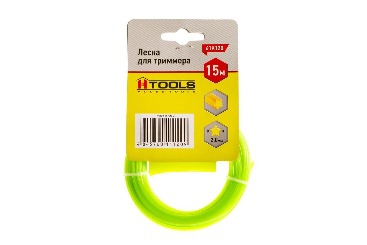 """Леска для триммера 2,0мм*15м, """"Звезда"""" Htools 61K120"""