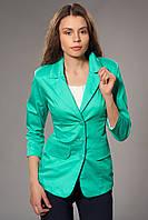 Пиджак женский удлиненный на подкладке. Код модели Ж-27-28-15