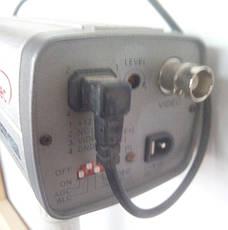 Цветная камера наблюдения высокого разрешения Viatec VC-520 с креплением и объективом в комплекте б/у, фото 3