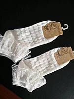 Носки детские летние с сеткой хлопок Baby размер 8-11 лет